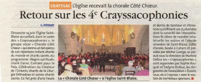 concert Crayssac